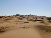 The Sahara desert, Morocco