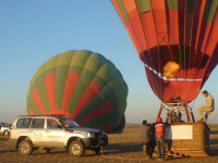 Balloon flight: team building in Morocco