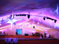 Corporate event set up in Morocco