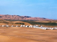 Morocco, Corporate team building: tented camp in the Sahara