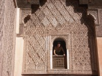 Visit to a traditional Moroccan building