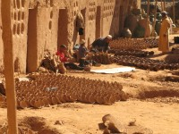 Travel in Morocco: traditional handicraft